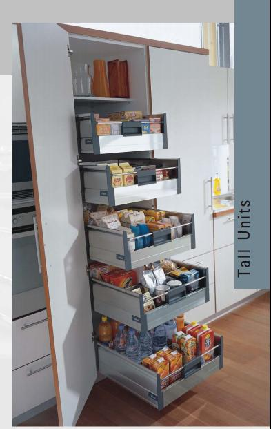 Kitchen accessories kitchen cabinet accessories india for Tall kitchen drawer unit